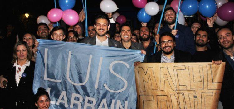 """Luis Larraín: """"Quiero ser el primer activista gay en llegar al Congreso"""""""
